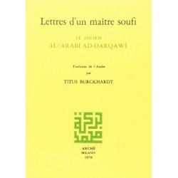 Lettres d'un maître soufi....