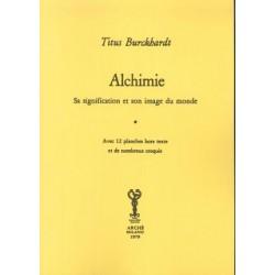 Alchimie. Sa signification...