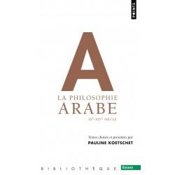 La philosophie arabe...
