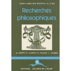 Recherches philosophiques...