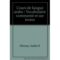 Cours de langue Arabe....