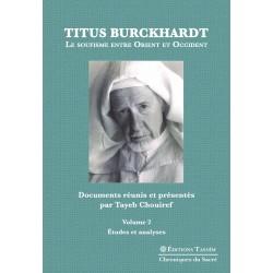 Titus Burckhardt. Le...